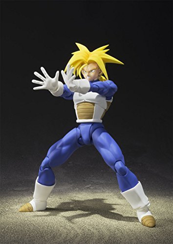 Bandai-Tamashii-Nations-Super-Saiyan-Trunks-Cell-Saga-Version-Dragon-Ball-Z-Action-Figure-0-2