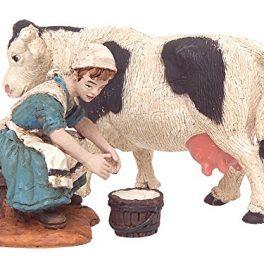 Bertoni-ordeo-Mujer-con-figura-decorativa-diseo-de-vaca-madera-multicolor-10-x-30-x-30-cm-0