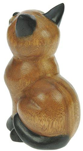 Figura-del-gato-sentado-ornamento-de-la-decoracion-del-hogar-escultura-madera-tallada-tamano-del-animal-tamao-21cm-0-2