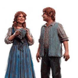 Lord-Of-The-Rings-Figura-de-Plomo-El-Seor-de-los-Anillos-Lord-of-the-Rings-Collection-N-151-Sam-Rosie-0