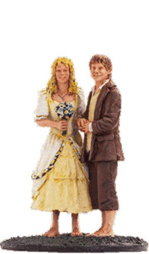 Lord-Of-The-Rings-Figura-de-Plomo-El-Seor-de-los-Anillos-Lord-of-the-Rings-Collection-N-54-Sam-And-Rosie-At-Hobbiton-0