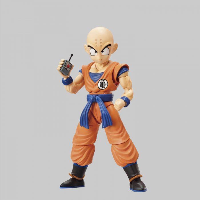 Maqueta-Necesario-Su-Montaje-Bandai-Hobby-Figure-Rise-Standard-Dragon-Ball-Krilin-Color-Plastic-Model-Figurise-0