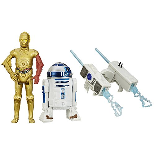 Star-Wars-El-Despertar-de-la-Fuerza-Figura-Snow-Mission-R2-D2-and-C-3PO-95cm-pack-de-2-B3957-0