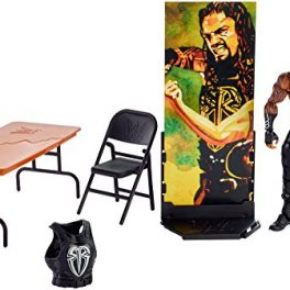 WWE-Figura-Elite-Wrestlemania-Roman-Reigns-Mattel-FMG40-0