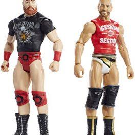 WWE-Pack-de-2-figuras-bsicas-con-accesorios-Cesaro-y-Sheamus-Mattel-FMF69-0