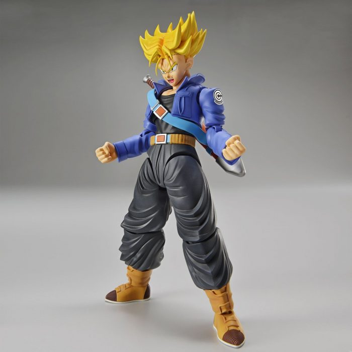 Bandai-Hobby-figure-rise-estndar-Super-Saiyan-Trunks-Dragon-Ball-Z-modelo-kit-0-3