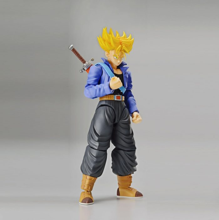 Bandai-Hobby-figure-rise-estndar-Super-Saiyan-Trunks-Dragon-Ball-Z-modelo-kit-0