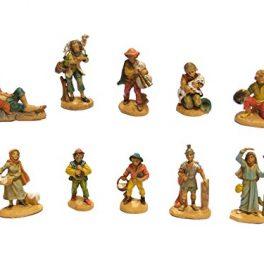 13/x 30/x 30/cm Madera, BERTONI Oveja Guardian Figura