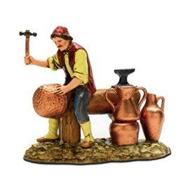 Bertoni-coppersmith-figura-madera-multicolor-10-x-30-x-30-cm-0