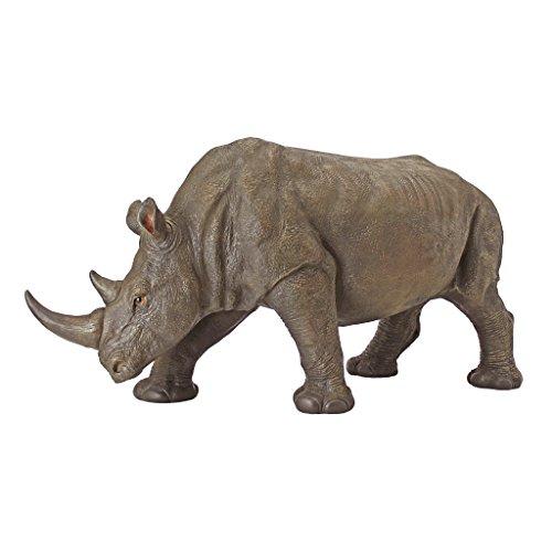 Design-Toscano-by-Blagdon-KY71133-Figura-decorativa-para-jardn-resina-diseo-de-rinoceronte-0-1