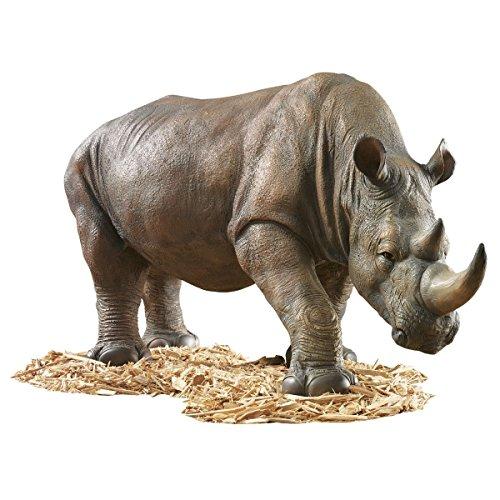Design-Toscano-by-Blagdon-KY71133-Figura-decorativa-para-jardn-resina-diseo-de-rinoceronte-0-2