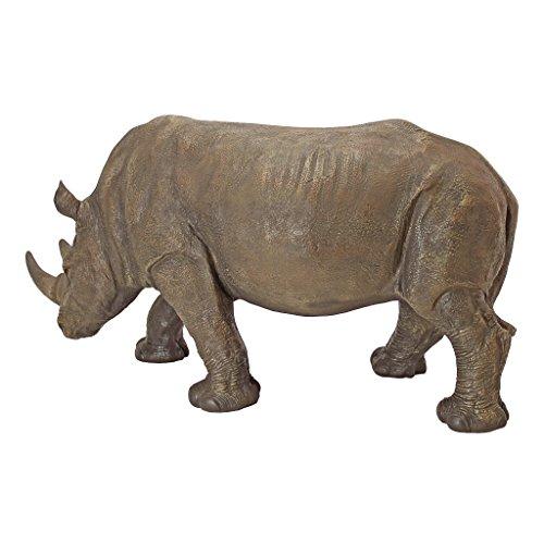 Design-Toscano-by-Blagdon-KY71133-Figura-decorativa-para-jardn-resina-diseo-de-rinoceronte-0-3