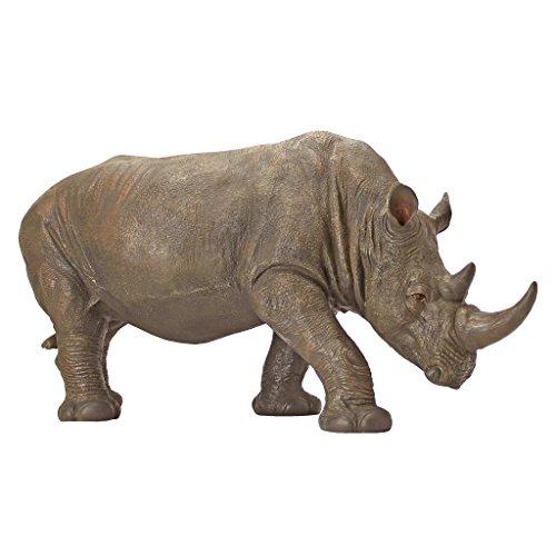 Design-Toscano-by-Blagdon-KY71133-Figura-decorativa-para-jardn-resina-diseo-de-rinoceronte-0