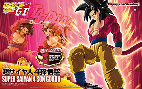 Dragon-Ball-Z-Dragon-Ball-GT-Super-Saiyan-4-Son-Goku-Figure-rise-StandardImportacin-Japonesa-0-7