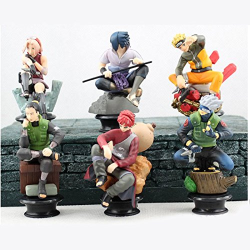 Figura-de-accin-Naruto-Cute-Figure-Playset-of-6-PCs-37-inch-0
