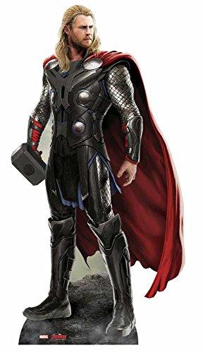 Figura-de-cartn-a-tamao-natural-de-Thor-de-Los-Vengadores-La-Era-de-Ultrn-187-cm-0