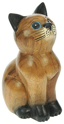 Figura-del-gato-sentado-ornamento-de-la-decoracion-del-hogar-escultura-madera-tallada-tamano-del-animal-tamao-21cm-0