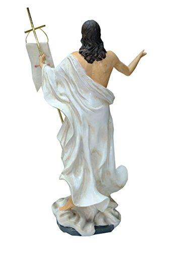 Kaltner-Prsente--Regalo-Idea--Figura-de-Cristo-Jess-con-bandera-Oster-Resurreccin-Jess-auferstehungschristus-0-0