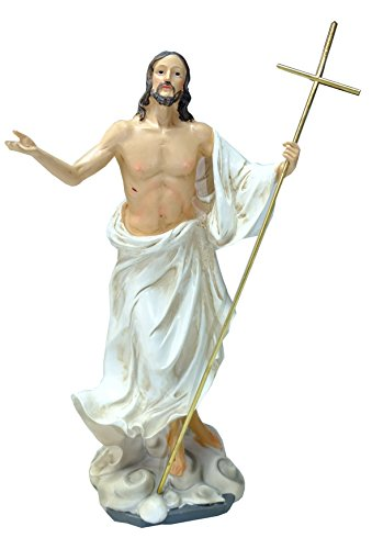 Kaltner-Prsente--Regalo-Idea--Figura-de-Cristo-Jess-con-bandera-Oster-Resurreccin-Jess-auferstehungschristus-0-1