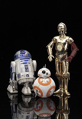 Kotobukiya-ksw114-1-10-Escala-C-3PO-y-R2-D2-con-BB-8-ARTFX-Estatua-de-0-3