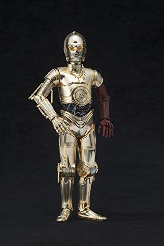 Kotobukiya-ksw114-1-10-Escala-C-3PO-y-R2-D2-con-BB-8-ARTFX-Estatua-de-0-8