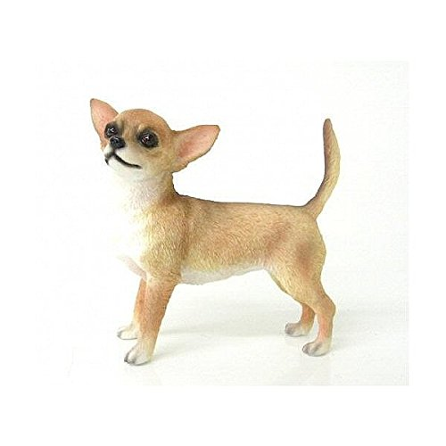 Leonardo-Collection-figura-decorativa-de-Chihuahua-perro-piedra-marrn-0