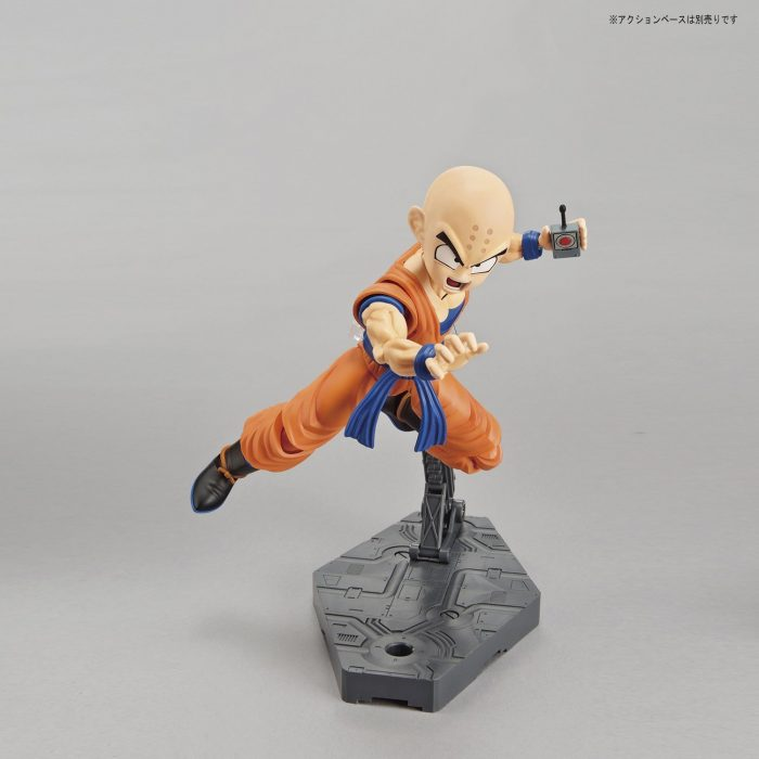 Maqueta-Necesario-Su-Montaje-Bandai-Hobby-Figure-Rise-Standard-Dragon-Ball-Krilin-Color-Plastic-Model-Figurise-0-1