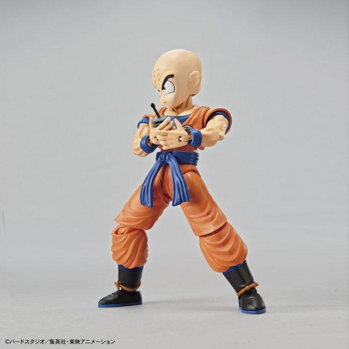 Maqueta-Necesario-Su-Montaje-Bandai-Hobby-Figure-Rise-Standard-Dragon-Ball-Krilin-Color-Plastic-Model-Figurise-0-3
