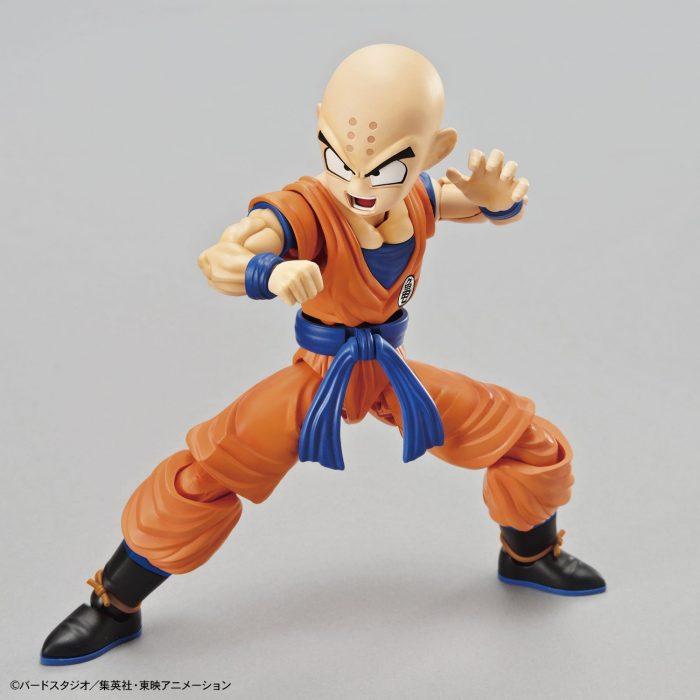 Maqueta-Necesario-Su-Montaje-Bandai-Hobby-Figure-Rise-Standard-Dragon-Ball-Krilin-Color-Plastic-Model-Figurise-0-4