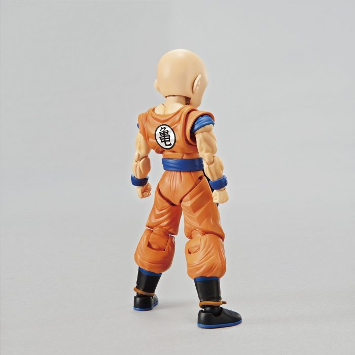 Maqueta-Necesario-Su-Montaje-Bandai-Hobby-Figure-Rise-Standard-Dragon-Ball-Krilin-Color-Plastic-Model-Figurise-0-5