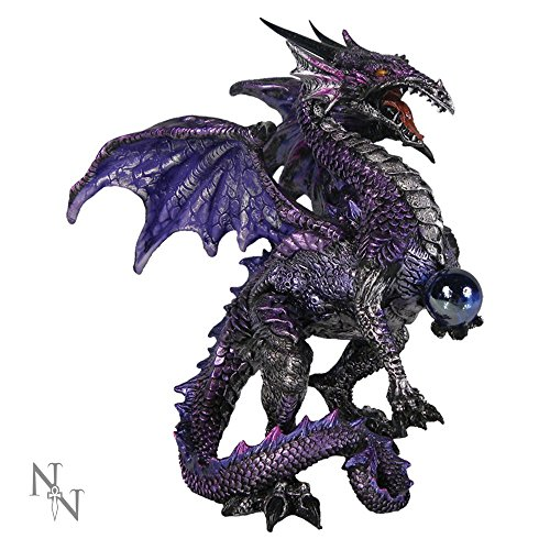 Nemesis-Now-AL50263-Figura-de-dragn-15-cm-color-morado-0
