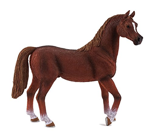 Science4you-Figura-caballo-rabe-de-plstico-talla-XL-color-marrn-7700-0