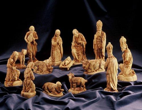 Set-de-Beln-figuras-estilo-clsico--Juego-completo-Altura-23-cm-906-Pulgadas-14-piezas-De-madera-de-olivo-tallada-a-mano-en-la-tierra-santa-0-4